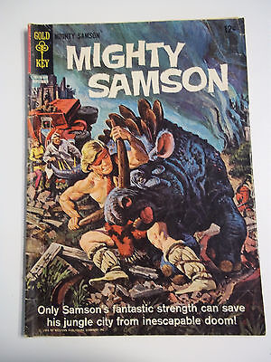 Gold Key Comics Mighty Samson # 3 September 1965 Vintage Comic Book VG