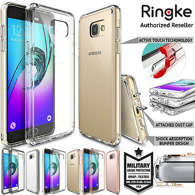 Galaxy A9 A8 A7 A5 A3 2016 Case for Samsung Genuine RINGKE FUSION Bumper Cover