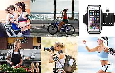 For iPhone 6/6 Plus Sports Gym Armband Case Phone Running Jogging Cover Holder