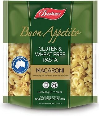 Buontempo Gluten & Wheat Free Rice Macaroni 500g