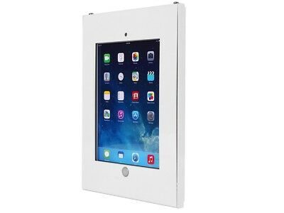 Wall Mount Holder for Tablet for Public Displays Lock Anti-Theft Mount Kit White