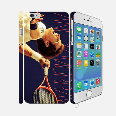 03 Andy Murray - Apple iPhone 4 5 6 Hardshell Back Cover Case