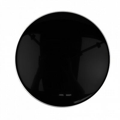 Smooth Gloss Black Drum Head Skins For Tom Snare and Bass Drums Unbranded
