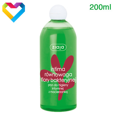 ZIAJA - INTIMA HERBAL MICROBIOTA BALANCE HYGIENE WASH GEL THYME - 200 ml 00269