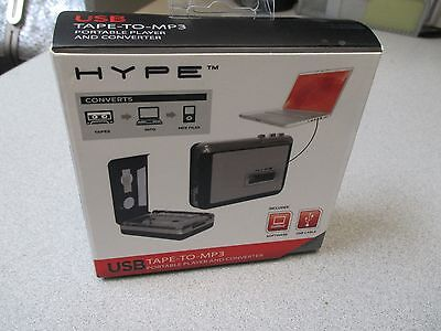 New Hype HY-2010-TP USB Tape to MP3 Portable Player and Converter Sealed
