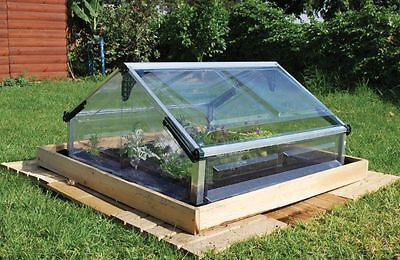 Palram Outdoor Polycarbonate Double Cold Frame Garden Greenhouse New