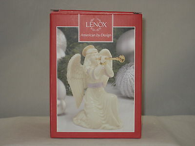 Lenox First Blessing Nativity Angel With Trumpet (NEW)