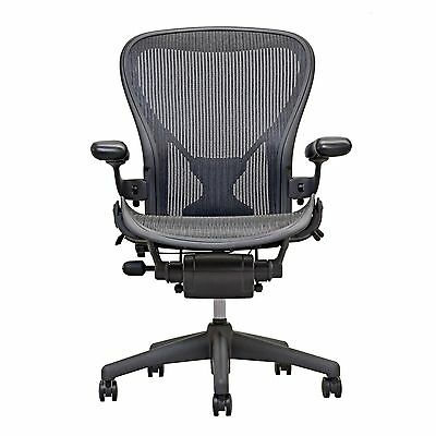 Herman Miller Fully Loaded Posture fit Size B Aeron Chairs  - Open Box -