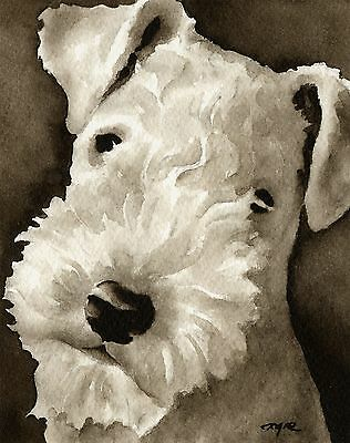 LAKELAND TERRIER note cards by watercolor artist DJ Rogers