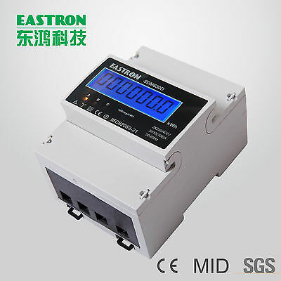 Eastron SDM630-Modbus (not calibrated), Down counter incl. 2x S0, MuFu meter