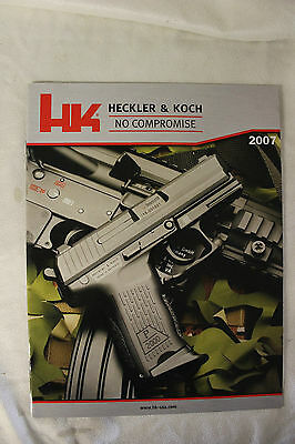 Heckler and Koch HK H&K Factory 2007 Collector's Edition Catalog  SEAL SOCOM SF
