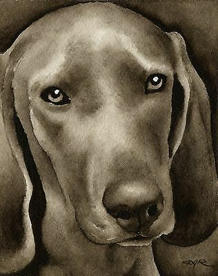 REDBONE COONHOUND note cards by watercolor artist DJ Rogers