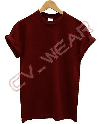 Plain Gildan Heavy Cotton T Shirt  Colours Present Gift Tshirt Men Womens Unisex