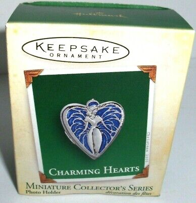 Charming Hearts`2005`Miniature-Die Cast-3Rd In The Series,Hallmark Ornament->New