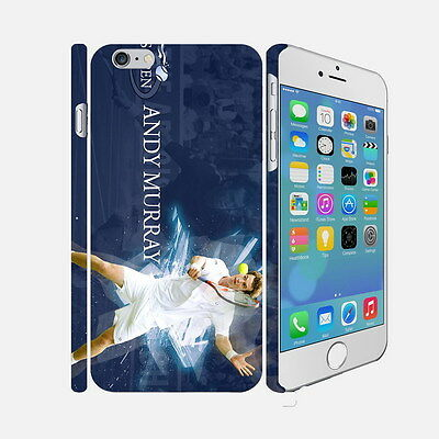 36 Andy Murray - Apple iPhone 4 5 6 Hardshell Back Cover Case