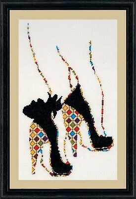 Design Works - Quilted Heels Counted Cross Stitch Kit
