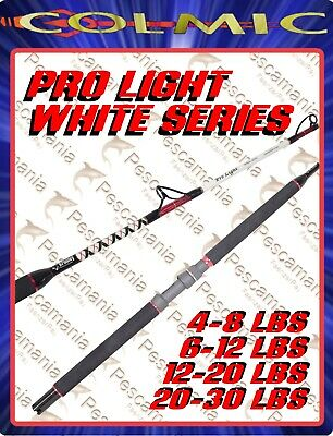 Canna traina colmic PRO LIGHT WHITE SERIES mt 2.10 big game