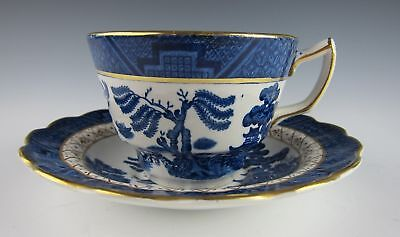 Booths China REAL OLD WILLOW Cup and Saucer Set(s)