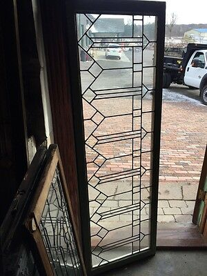 Sg 548 Antique Leaded Glass Transom Window