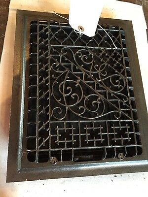 Very Ornate Cast Iron Heating Grate Tc 77