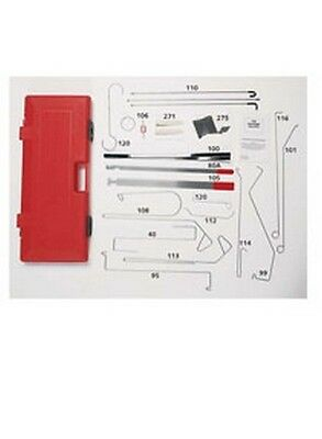 Grand Master Automotive Lock-Out Tool Kit LOC-1000 Brand New!