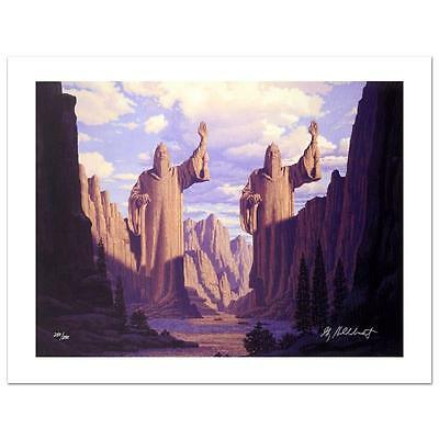 """LOTR Brothers Hildebrandt """"The Pillars Of The Kings"""" LE Giclee on Canvas Signed"""