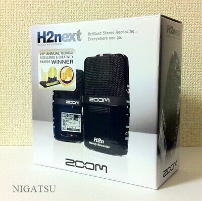 F/S NEW ZOOM handy recorder H2n Linear PCM Digital Audio Portable JAPAN