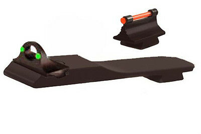 Marlin 1895 Dovetail Ghost Ring Green/Red Fiber Optic Sight Set NEW  **