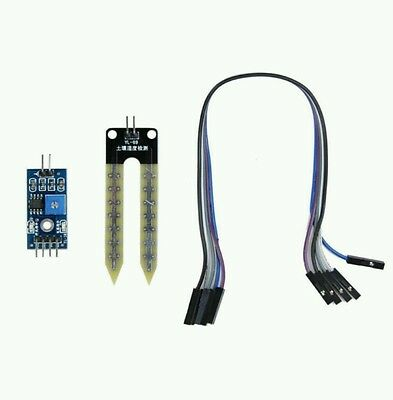 Soil Humidity Hygrometer Moisture Detection Sensor Module For Arduino