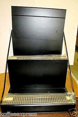 Airpot Rack  6 Position Wire  Brand New  Black