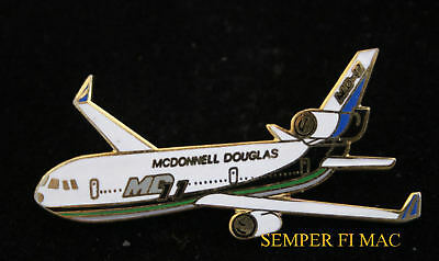 Md-11 Mcdonnell Douglas Jet Hat Pin Long Beach Airliner Airline Fly Dc Jets Wow