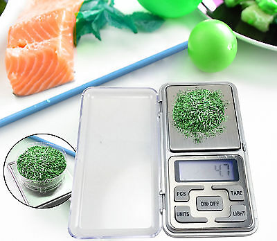 500g 0.1g Digital Weight Precision Jewellery Pocket Lab Electronic Mini Scales