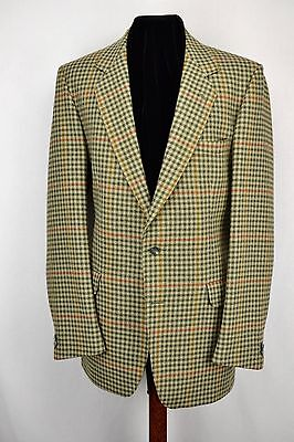 "Magee Wolfhound Twist Country Check Tweed Jacket 42"" Long"