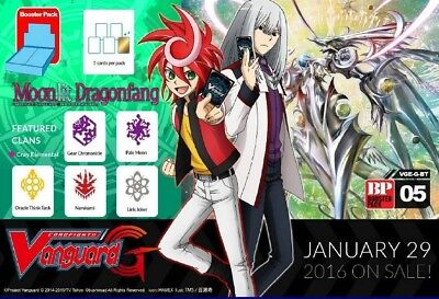 Cardfight!! Vanguard G-BT05 Oracle Think Tank common set (4 of each card)