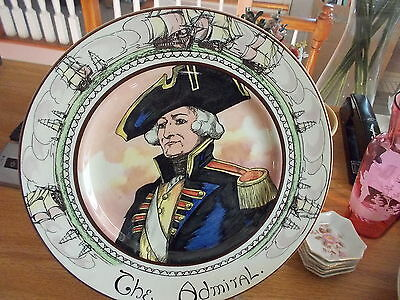 """Royal Doulton ADMIRAL LORD NELSON """"The Admiral"""" Collector Plate"""