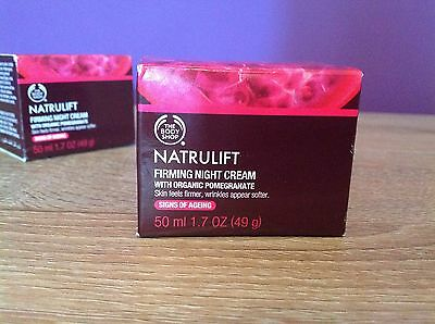 The Body Shop Natrulift Firming Night Cream. Skin Care, Women's Cosmetics.