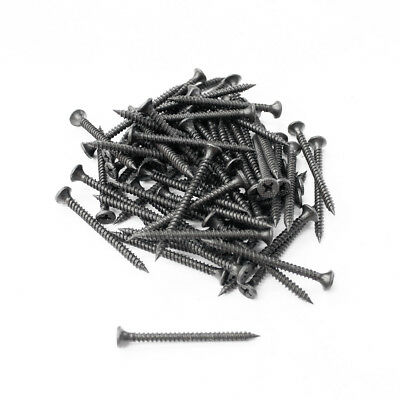 120 pcs Screws for Timber Wood Plastic Board Furniture Chair Sofa Couch 20-60mm