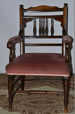 Antique Regency Mahogany Carver Chair - FREE Delivery [PL1985]