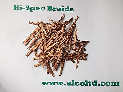 Hi-Spec 40mm Braids/Brushes (pack of 12) SCALEXTRIC SPARES (BUY 2 GET 1 FREE)