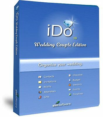 NEW IDo Wedding Couple Edition: Wedding Planning Software for Brides and Grooms