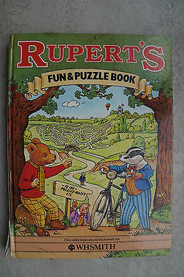 RUPERT Fun & Puzzle Book 1983 - 33 Years Old