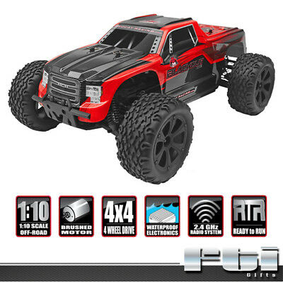 Redcat Racing Blackout XTE 1/10 RED Electric Monster Truck Remote Control RTR