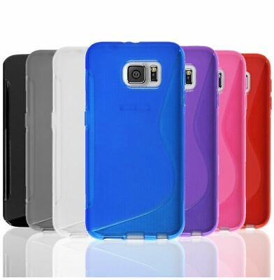S-Curve Soft Ultra Slim Gel Cover TPU Case for Samsung Galaxy S7 & S7 Edge S8 S9