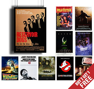 A3 Size CLASSIC MOVIES Poster Options Film Cinema Wall Art Print Christmas Gift