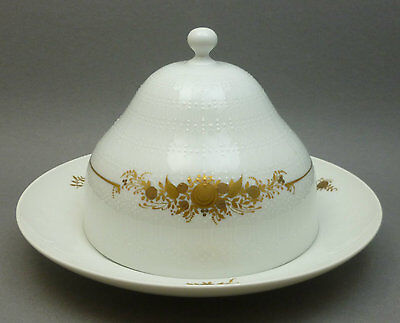 Vtg Rosenthal China Germany Romance II Medley Covered Butter Cheese Dish w/ Lid