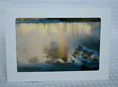 Niagara Falls, greeting card, blank inside, photography, framable, Artslovely