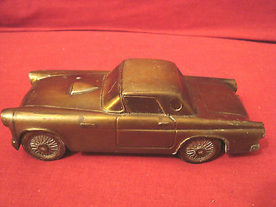 Vintage 1974 Ford 1955 Thunderbird Metal Bank By Banthrico Inc. Chicago  Usa