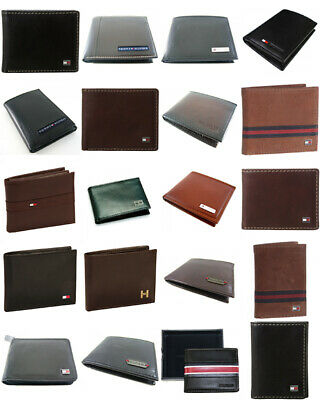 Tommy Hilfiger Men's Leather Credit Card Wallet 36 Wallets Assorted Wholesale