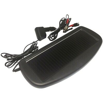 12V SOLAR Trickle Boat Battery Charger saver Marine airport storage Leisure car