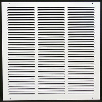 "16w"" x 16h"" RETURN GRILLE - HVAC Dcut Cover - Easy Air FLow - Flat Stamped Face"